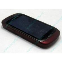 Красно-розовый телефон Alcatel One Touch 818 (Пуршево)