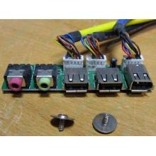 Панель передних разъемов (audio в Пуршево, USB в Пуршево, FireWire) для корпуса Chieftec (Пуршево)