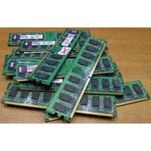 ГЛЮЧНАЯ/НЕРАБОЧАЯ память 2Gb DDR2 Kingston KVR800D2N6/2G pc2-6400 1.8V  (Пуршево)