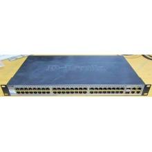 Управляемый коммутатор D-link DES-1210-52 48 port 10/100Mbit + 4 port 1Gbit + 2 port SFP металлический корпус (Пуршево)
