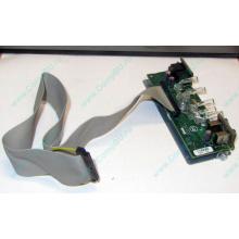 Панель передних разъемов (audio в Пуршево, USB) и светодиодов для Dell Optiplex 745/755 Tower (Пуршево)
