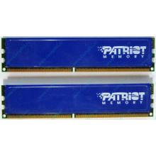 Память 1Gb (2x512Mb) DDR2 Patriot PSD251253381H pc4200 533MHz (Пуршево)